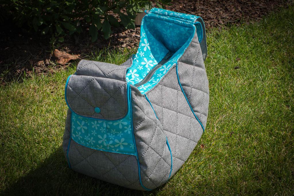 Tasche zu mit Reißverschluss
