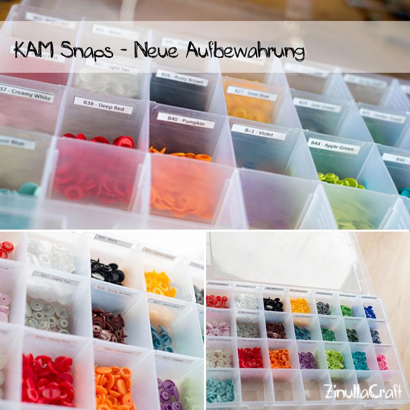 Kam Snaps - Neue Aufbewahrung