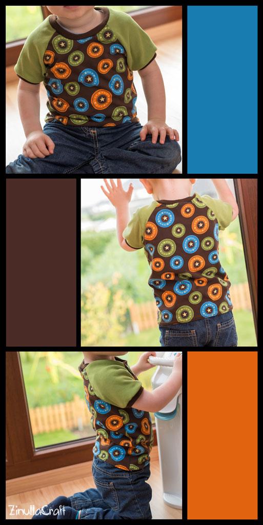 Basic Raglan-Shirt