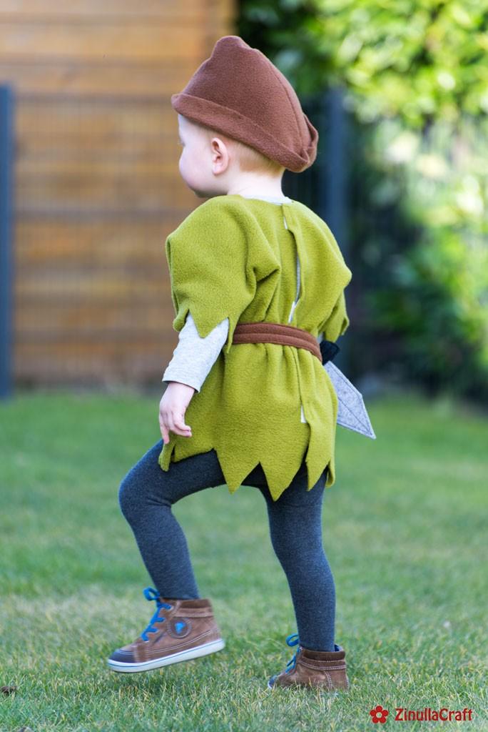 """""""Peter Pan"""" von hinten"""