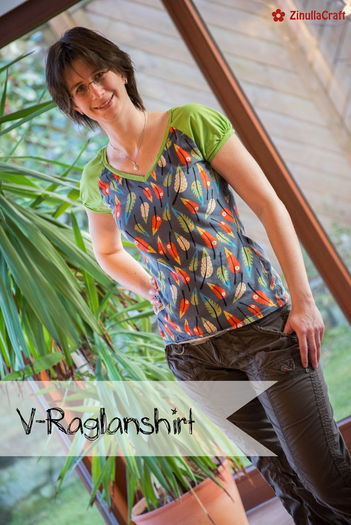 V-Raglanshirt - Cover