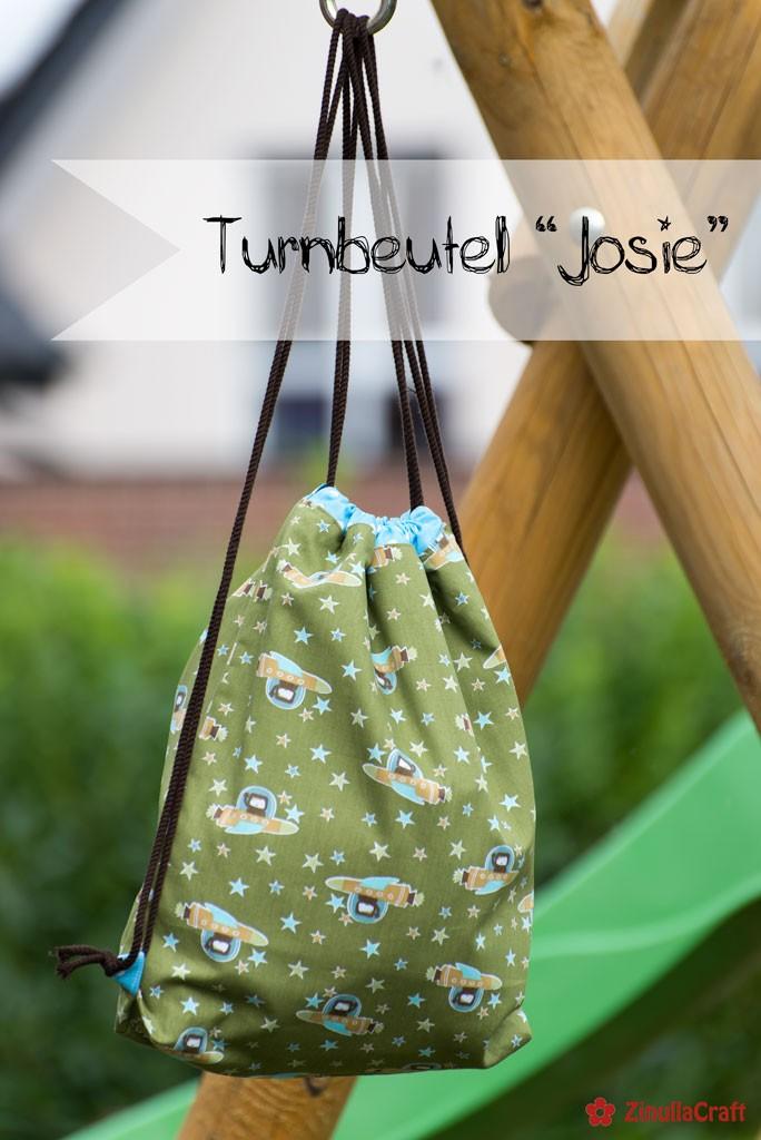 "Cover - Turnbeutel ""Josie"""