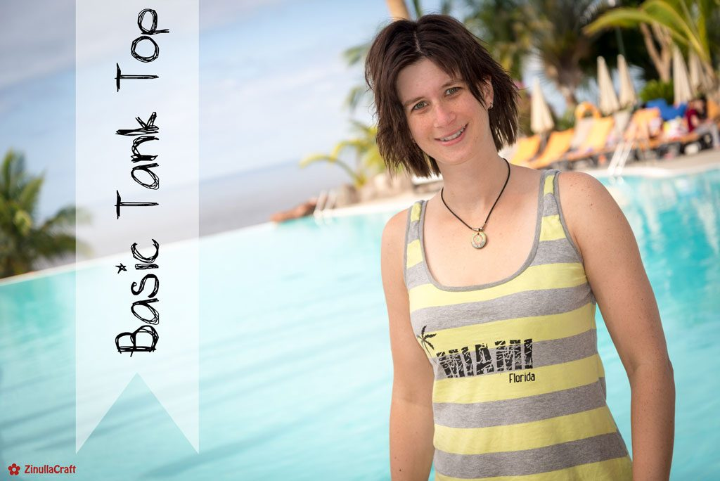 """Basic Tank Top"" von Kibadoo - Cover"