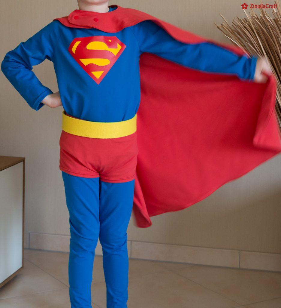 Karnevalskostüm Superman