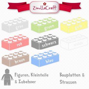 Plotterfreebie mit Legobausteinen (erstellt von ZinullaCraft)