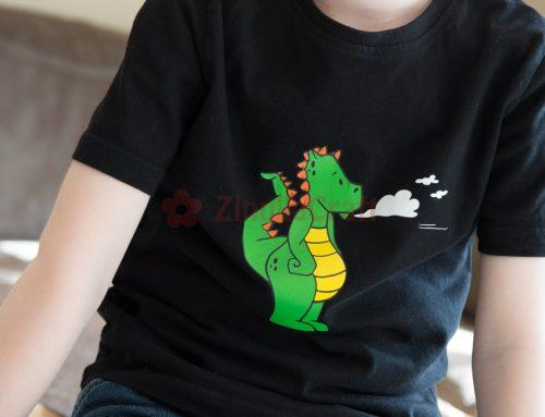 Wie der Drache aufs Shirt kam