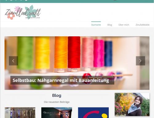 Neues Design des Webauftritts