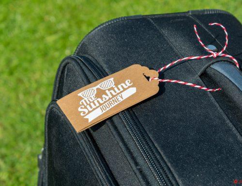 Kofferanhänger aus SnapPap