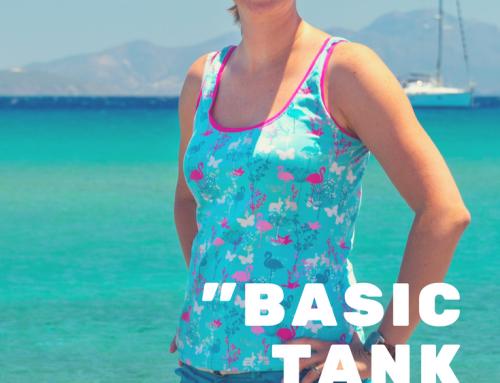 Basic Tank Top Flamingo für den Urlaub